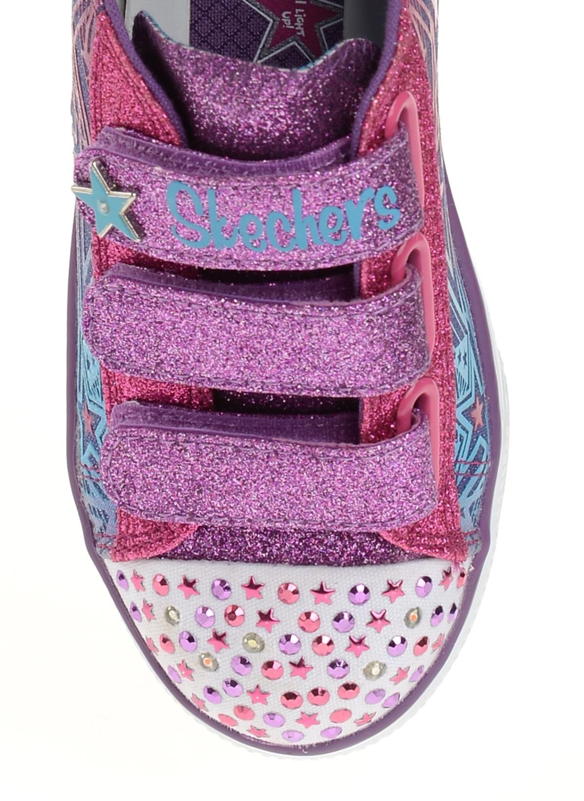 1e00ba622d94 Skechers Kız Çocuk Spor Ayakkabı Kot Çoklu